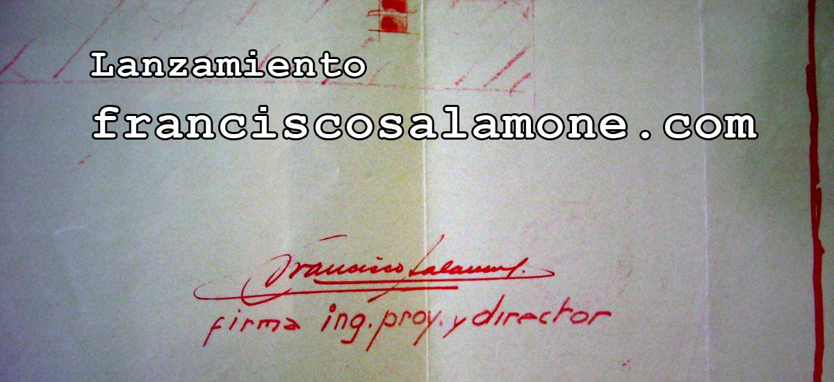 Lanzamiento de FranciscoSalamone.com