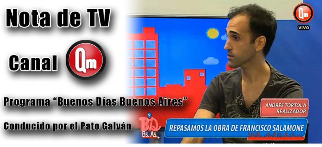 Nota de TV Canal Qm