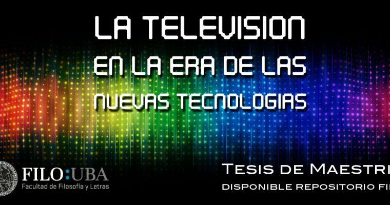 Gestión Cultural Tesis Televisión